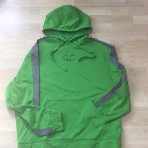 Champion men's💚double dry L/XL hoodie!